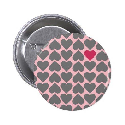 Regalo único del el día de San Valentín Pin Redondo De 2 Pulgadas