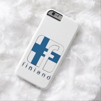 Regalo único del logotipo de Finlandia Suomi Funda De iPhone 6 Barely There