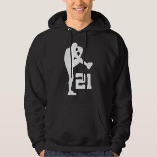 Regalo uniforme del número 21 del jugador de pulóver