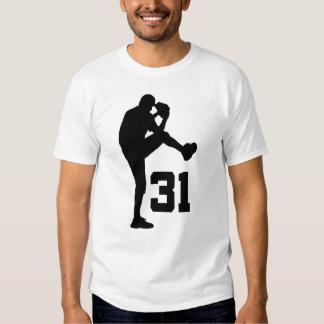 Regalo uniforme del número 31 del jugador de playera