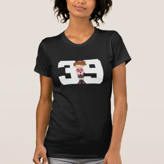 Regalo uniforme del número 39 del fútbol (chicas) playeras