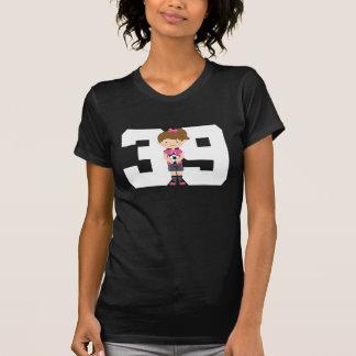 Regalo uniforme del número 39 del fútbol (chicas) polera