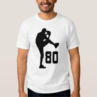 Regalo uniforme del número 80 del jugador de playera