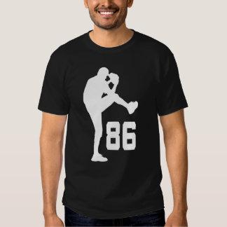 Regalo uniforme del número 86 del jugador de poleras