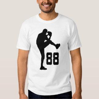 Regalo uniforme del número 88 del jugador de playeras