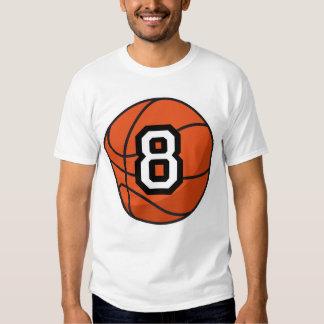 Regalo uniforme del número 8 del jugador de remera