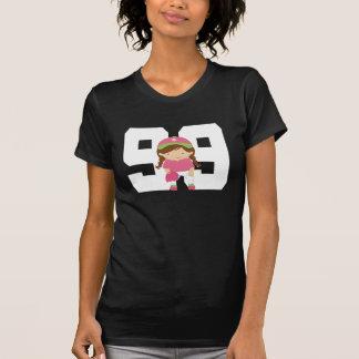 Regalo uniforme del número 99 del softball (chicas playeras