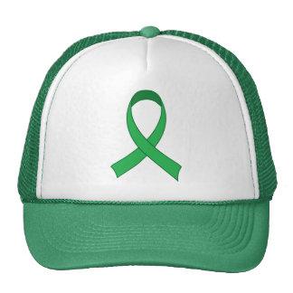 Regalo verde personalizado de la conciencia de la gorro