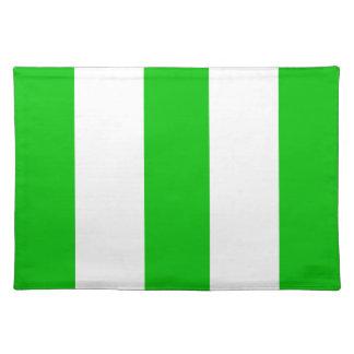 Regalo verde y blanco de la nueva isla 2012 de la  mantel individual