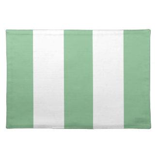 Regalo verde y blanco del nuevo zen 2012 de la ray manteles