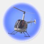 Regalo y pegatinas del helicóptero de la diversión