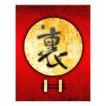Regalos 05 del estilo del vintage del Feng-shui Membretes Personalizados