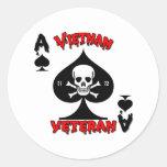 Regalos 1971 a 1972 del veterano de Vietnam Pegatina