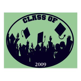 Regalos 2009 de la graduación postales