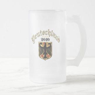 Regalos 2010 de Deutschland Adler Wappen Fussball Tazas