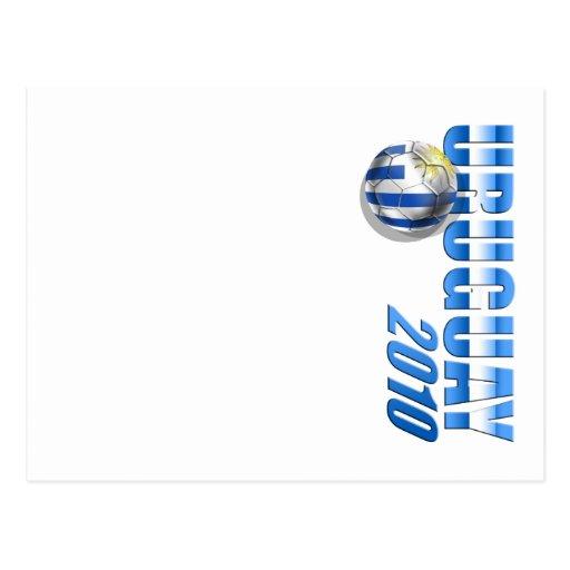 Regalos 2010 de Futbol Celeste del fútbol del Postal
