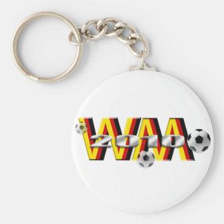 Regalos 2010 de WM DE Fussball Llavero Redondo Tipo Pin