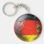 Regalos 2010 del balón de fútbol de Deutschland Fu Llavero
