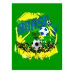 Regalos 2010 del futbol de los amantes del fútbol postal