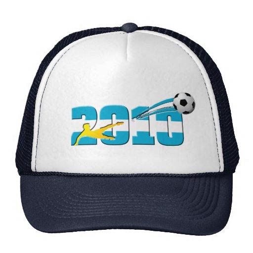 Regalos 2010 del logotipo del fútbol de la Argenti Gorros