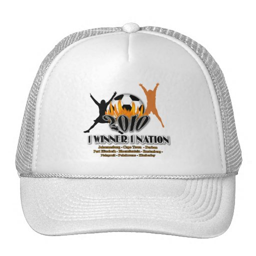 Regalos 2010 y recuerdos de la nación de anfitrión gorra