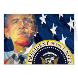 Regalos 3 de Obama Tarjeta De Felicitación