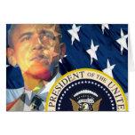 Regalos 3 de Obama Tarjetas