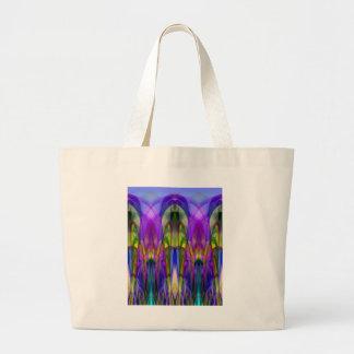 Regalos abstractos coloridos manchados de la Vidri Bolsa
