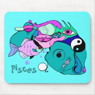 Regalos abstractos del regalo de los pescados de P Tapetes De Ratones