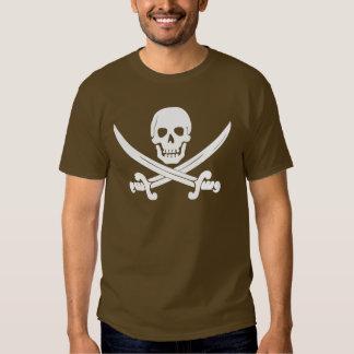 Regalos alegres del cráneo de Rogelio y del pirata Camisas