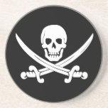 Regalos alegres del cráneo de Rogelio y del pirata Posavaso Para Bebida