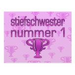 Regalos alemanes de la hermanastra: Stiefschwester Postal