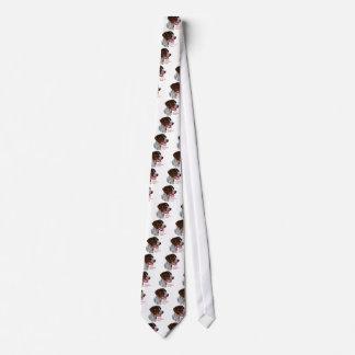 Regalos alemanes del indicador de pelo corto corbata