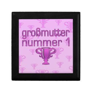Regalos alemanes para las abuelas Großmutter Numm Cajas De Regalo