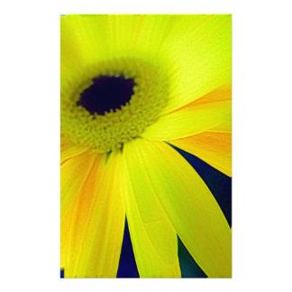 Regalos amarillos brillantes de la margarita  papeleria de diseño