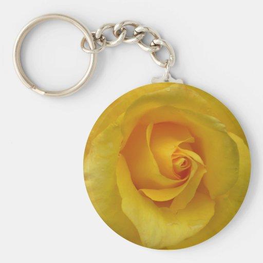 Regalos amarillos de la flor de Cheeful de los lla Llaveros