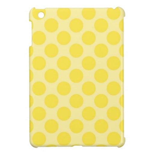 Regalos amarillos de moda de la diversión de la fr iPad mini protector