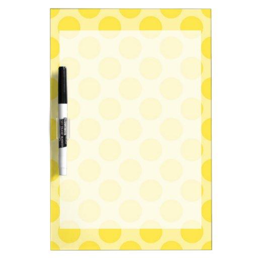 Regalos amarillos de moda de la diversión de la fr pizarras blancas de calidad