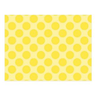 Regalos amarillos de moda de la diversión de la postales