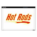 Regalos amarillos y candentes de Hotrod de la barr Skins Para Portátil