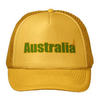 regalos amarillos y verdes del logotipo de Austral Gorra
