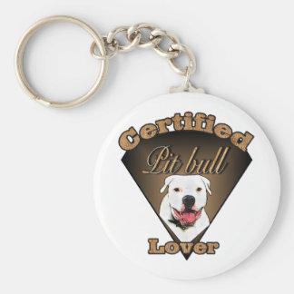 Regalos americanos de Terrier de pitbull Llavero