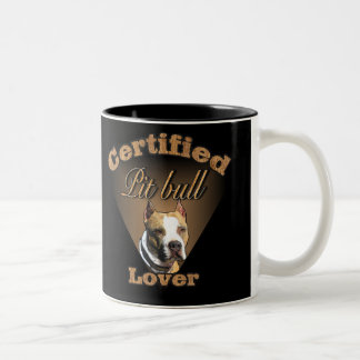 Regalos americanos de Terrier de pitbull Taza