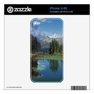 Regalos americanos hermosos de la montaña rocosa iPhone 4S skin