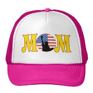 Regalos americanos orgullosos del día de madres de gorras de camionero