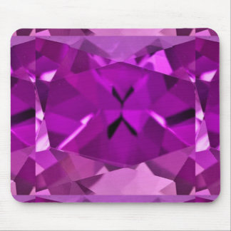 Regalos Amethyst púrpuras de febrero por Sharles Tapetes De Ratones