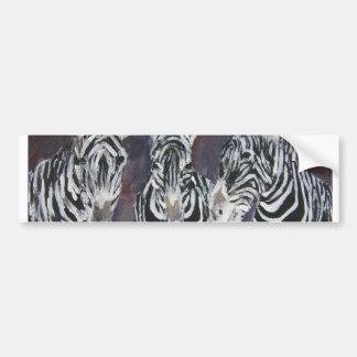 regalos animales del arte de la pintura de la faun pegatina para auto