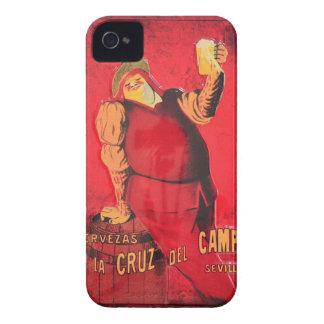 Regalos Anuncio Cerveza Vintage RetroCharms Case-Mate iPhone 4 Cobertura