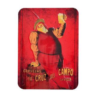 Regalos Anuncio Cerveza Vintage RetroCharms Iman