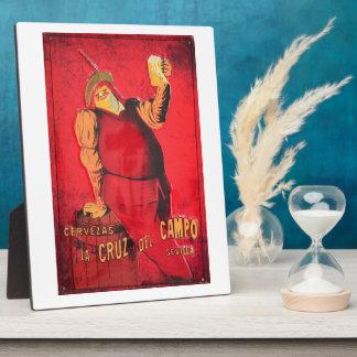 Regalos Anuncio Cerveza Vintage RetroCharms Placas Con Foto